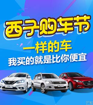 西子购车节,为你量身定制省钱购车方案。
